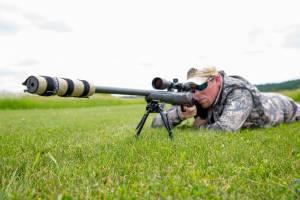 Banish multi-caliber suppressor