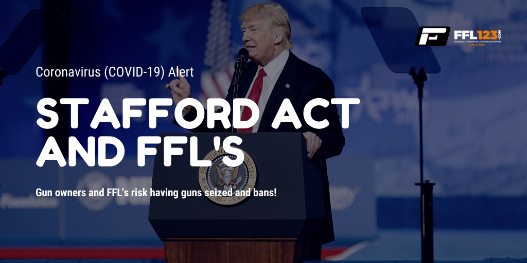 Stafford Act and FFL's FFL123